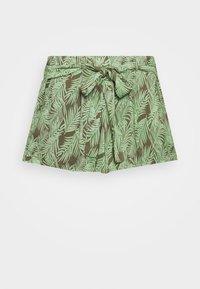 NMFLORA - Shorts - kalamata/green ash