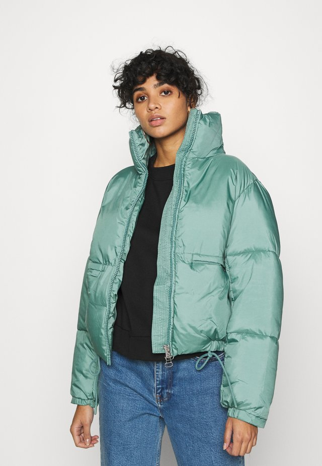 HEDDA PUFFER JACKET - Zimní bunda - dark turquoise