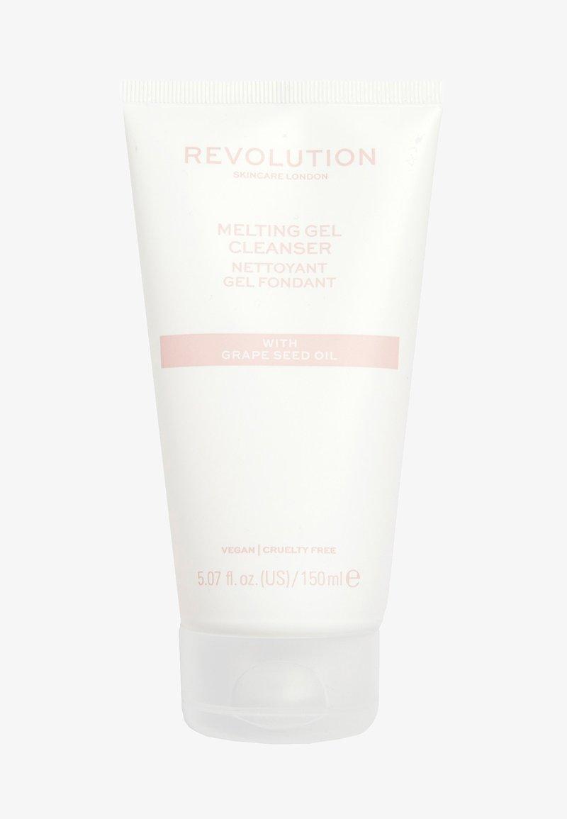 Revolution Skincare - MELTING GEL CLEANSER - Cleanser - -
