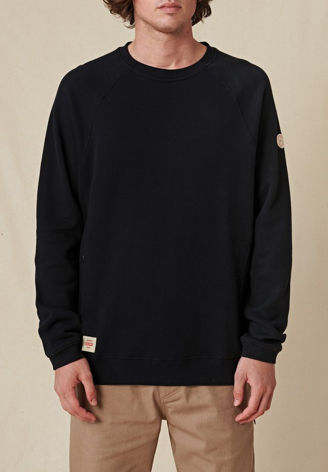 TRAVELLER CREW - Pullover - black