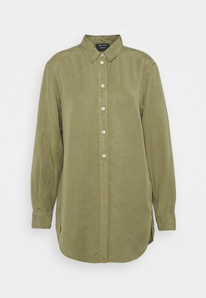 BLOUSE LONG SLEEVE - Skjortekjole - dried sage