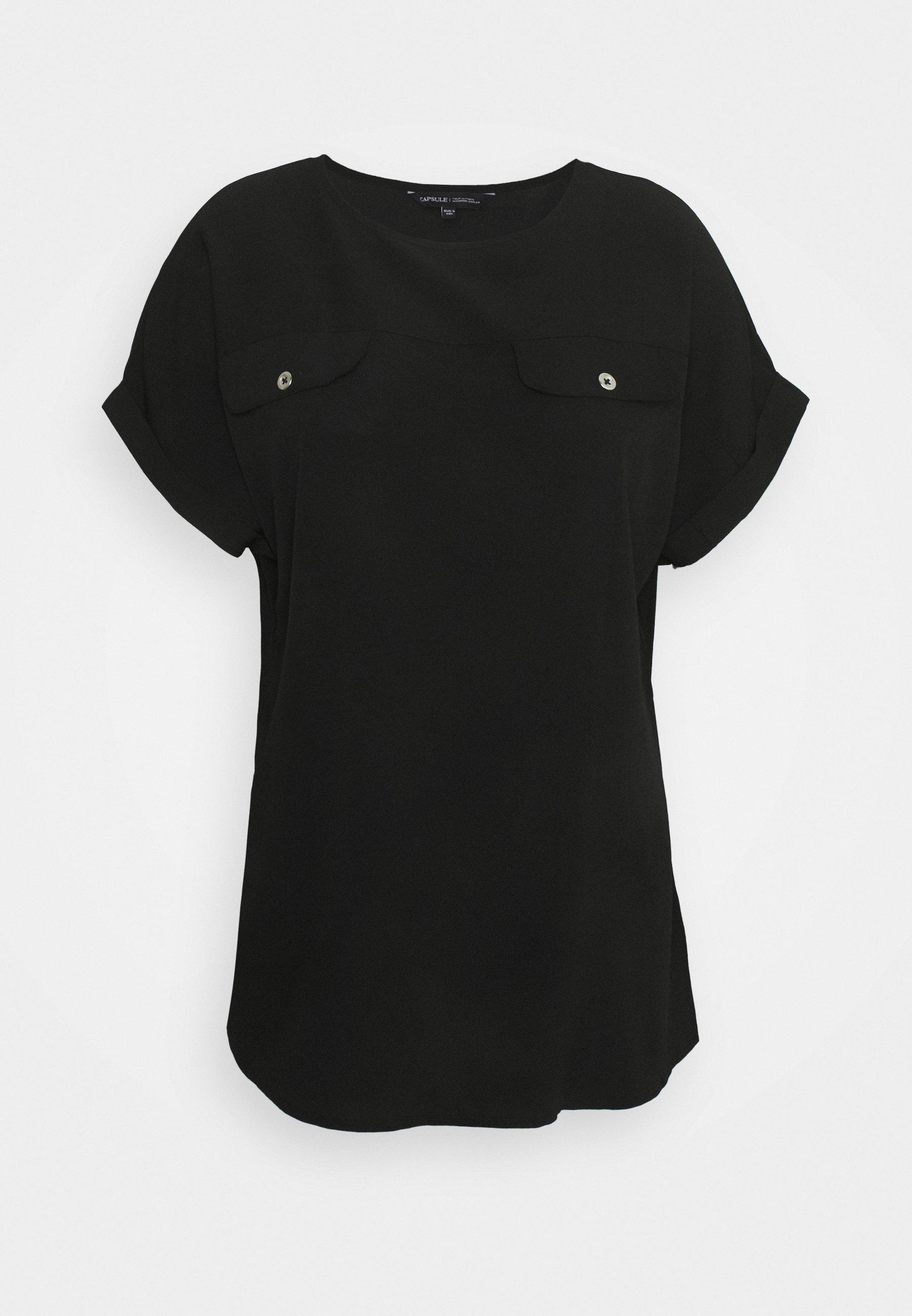 Women UTILITY BOXY TOP - Print T-shirt