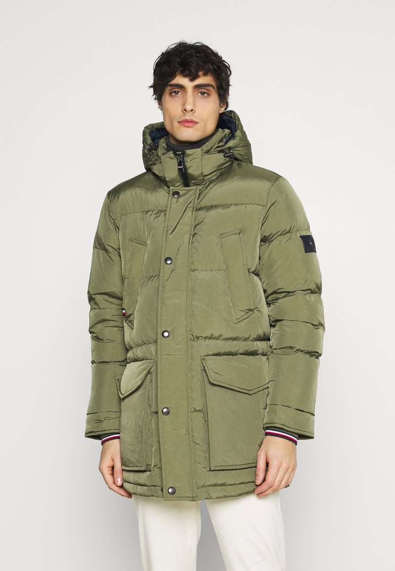 Tommy Hilfiger - Down coat - green