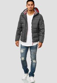 INDICODE JEANS - PHILPOT - Winter jacket - dark grey - 1