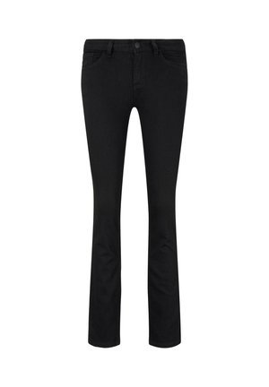 JEANSHOSEN ALEXA SLIM JEANS IN GRÜN - Slim fit jeans - black denim