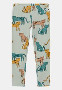 Lindex - LEO UNISSEX - Leggings - Trousers - light aqua - 0