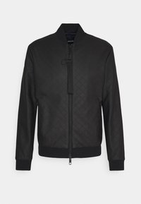 Antony Morato - COAT WITH EMBOSSED GEOMETRIC PATTERN - Imitatieleren jas - nero - 0