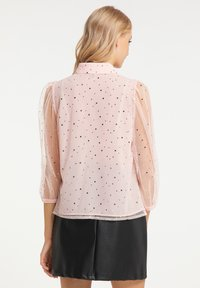 myMo at night - Button-down blouse - rosa - 2