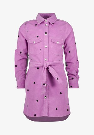 Shirt dress - violet purple