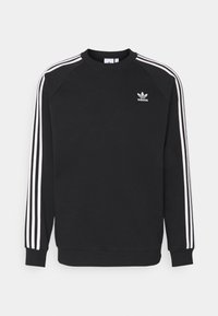 adidas Originals - 3 STRIPES CREW UNISEX - Sweatshirt - black - 4