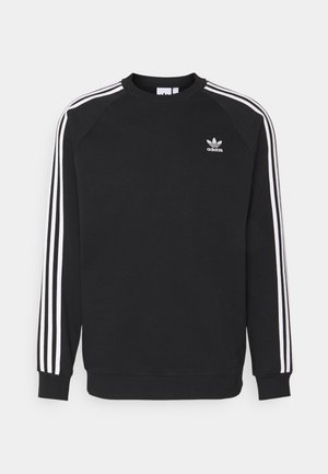 3 STRIPES CREW UNISEX - Sweatshirt - black