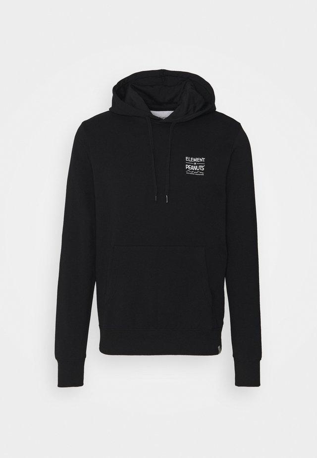 PEANUTS ADVENTURE  - Sweatshirt - flint black