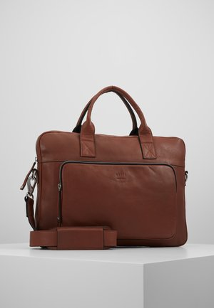 LUKE CLEAN BRIEF ROOM - Aktovka - brown
