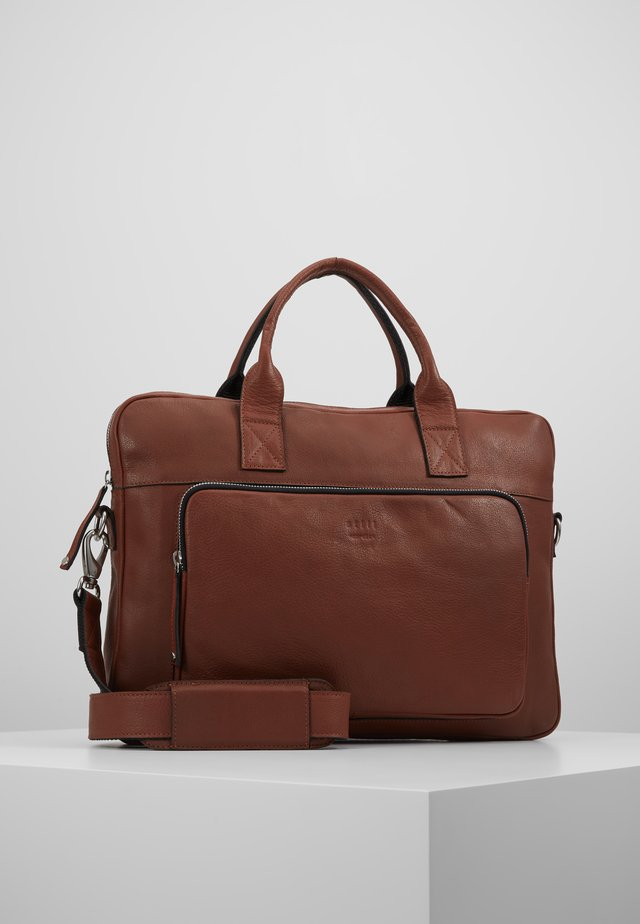 LUKE CLEAN BRIEF ROOM - Briefcase - brown