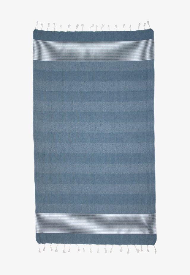 DENIZ - Strandhanddoek - blue/white