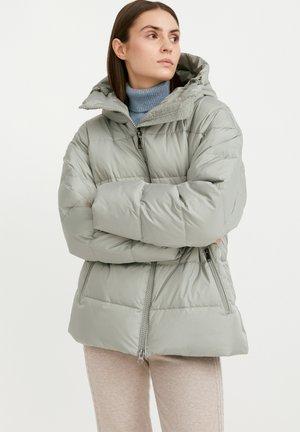 Down jacket - light green