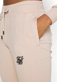 SIKSILK - ZONAL TRACK PANTS - Tracksuit bottoms - beige - 4