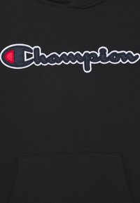 Champion Rochester - LOGO HOODED UNISEX - Collegepaita - black - 2