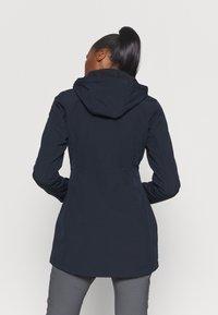 Icepeak - UHRICHSVILLE - Soft shell jacket - dark blue - 2