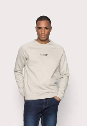 CRAFTED GOODS CREW - Sweater - off-white