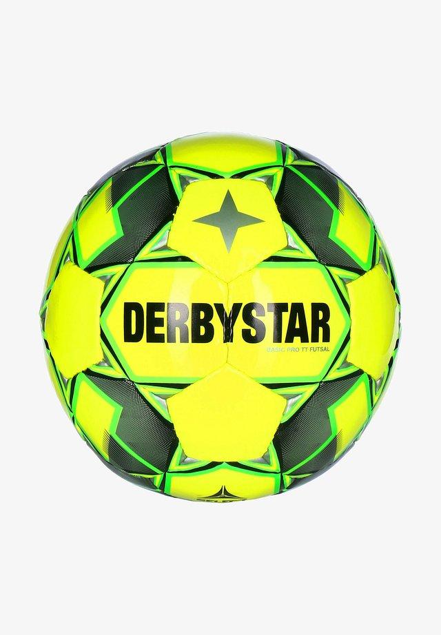 Voetbal - gelb / grau / gruen