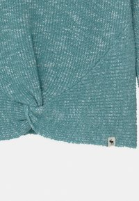 Abercrombie & Fitch - TWIST FRONT  - Jumper - blue marl - 2