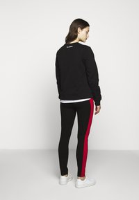 KARL LAGERFELD - PUNTO LOGO - Leggings - Trousers - black - 2