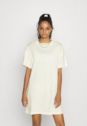 TEE DRESS - Jersey dress - light yellow