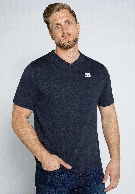 Homme MIT V AUSSCHNITT  - T-shirt basique