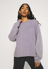 Carhartt WIP - MOSBY SCRIPT - Long sleeved top - provence - 3