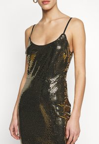Missguided Tall - STRAPPY MIDI DRESS - Cocktail dress / Party dress - gold - 6