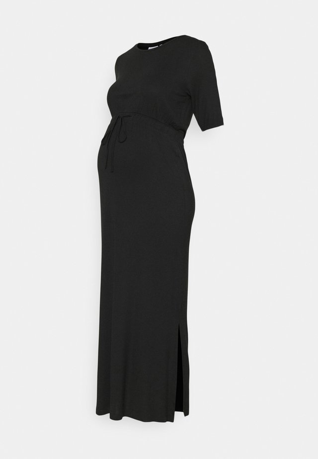 MLALISON DRESS - Žerzejové šaty - black