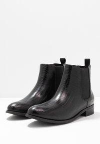 Bianco - BIABELENE CLASSIC CHELSEA - Ankle boots - black - 4