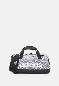 adidas Performance - DUFFEL - Sportovní taška - black/white - 1