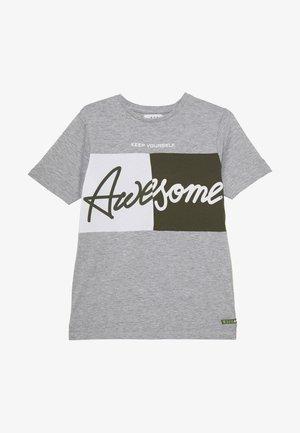 TEENAGER - T-shirt con stampa - grey melange