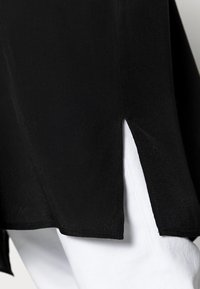 Opus - FARTAN - Button-down blouse - black - 4