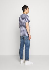 Barbour - DELAMERE STRIPE TEE - Print T-shirt - inky blue - 2