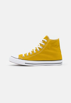 CHUCK TAYLOR ALL STAR COLOR UNISEX - High-top trainers - dark citron