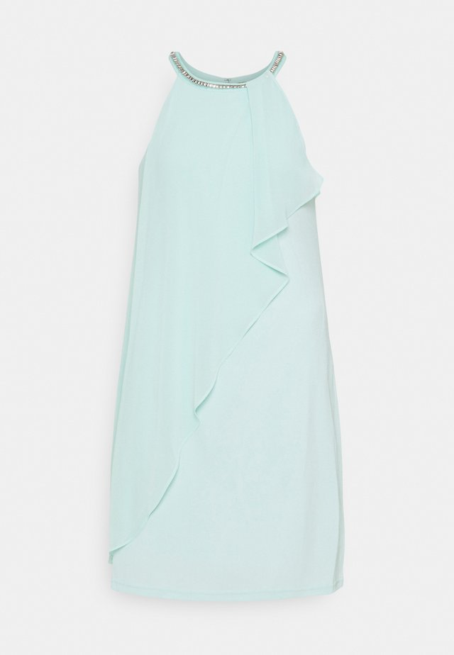 ASYM DRESS - Vestito elegante - light turquoise