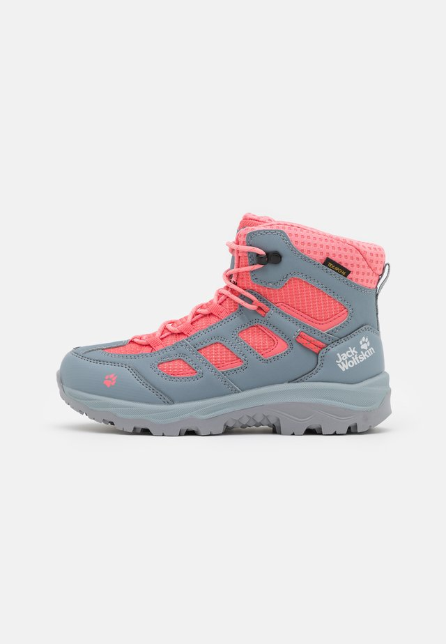 VOJO TEXAPORE MID UNISEX - Scarpa da hiking - grey/pink