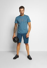 Vaude - ME CYCLIST  - T-Shirt print - blue gray - 1
