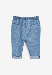 Next - Straight leg jeans - blue denim - 1