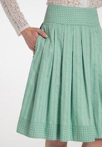 Spieth & Wensky - RUMENA - A-line skirt - grã¼n - 2