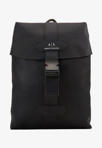 Armani Exchange - BACKPACK - Reppu - black - 4