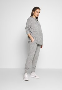 Forever Fit - SOFT TOUCH JOGGER - Tracksuit bottoms - grey - 1