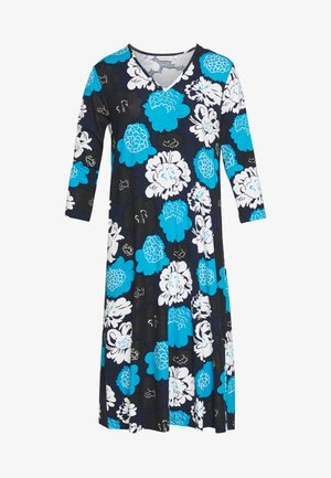 ILTAMA PIENI PIONI DRESS - Jersey dress - dark blue/black/vivid blue