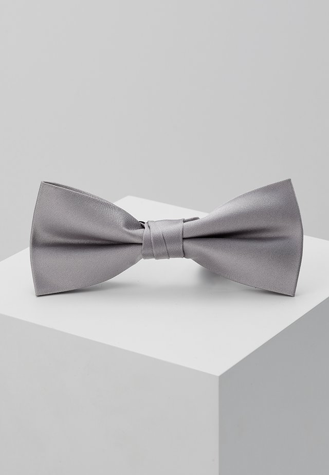 SOLID BOW TIE - Butterfly - grey