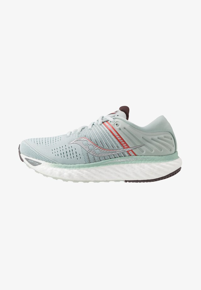 TRIUMPH - Obuwie do biegania treningowe - sky grey/coral