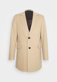 Klasický kabát - camel