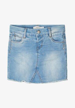 Jeansrok - light blue denim